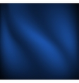 Waving blue cloth vector image