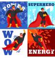 superhero design concept vector image