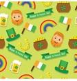 seamless pattern St Patricks Day vector image