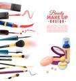 cosmetics beauty make-up design poster