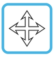 Expand Arrows Icon In a Frame