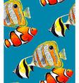 Fish Pattern3B vector image vector image