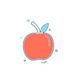 fruits icon design vector image