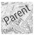 Parental Controls for the Internet How to Use Them vector image vector image