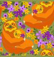 sloths vector image vector image