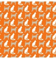 Animal seamless pattern of cat and dog vector image vector image