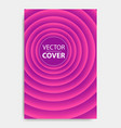 cover design template for decoration presentation vector image vector image