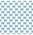 cute crab seamless pattern cartoon hand drawn vector image
