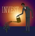financial vector image vector image