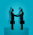 fraud agreement concept vector image vector image