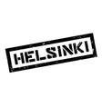Helsinki rubber stamp vector image