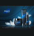 night cosmetic background beauty skin care