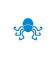 octopus logo vector image
