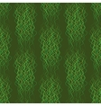 Seamless pattern abstract wavy lines on a green vector image