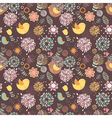Summer lovely floral seamless pattern vector image