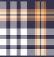 tartan plaid pattern background vector image vector image