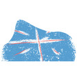 abstract flag sketch of united kingdom vector image vector image