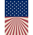 American striped background vector image vector image