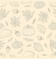 autumn 19-09 vector image vector image