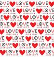 background wallpaper love heart text design vector image vector image