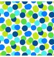 Ditsy polka dots vector image vector image