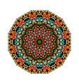 mandala eastern style illistration vector image