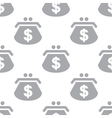 New Dollar purse seamless pattern vector image vector image