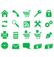 set of simple icons for decoration and design vector image vector image