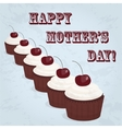 happy mother day card vector image