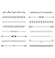 0001 hand drawn dividers vector image vector image