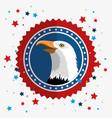 american eagle label vector image vector image