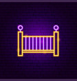 babed neon sign vector image