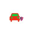 Car insurance Icon vector image