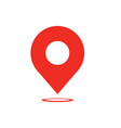 map pointer icon - navigatiop symbol - map pin vector image