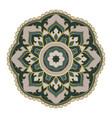 oriental mandala vector image