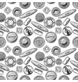 pattern with clothes buttons vector image vector image