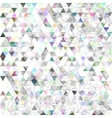 Retro pattern of geometric shapes vector image