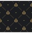 Royal wedding pattern vector image vector image