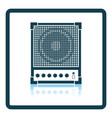 audio monitor icon vector image vector image