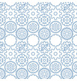 background pattern with machine gears vector image vector image