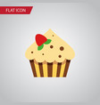 isolated sweetmeat flat icon confectionery vector image