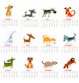monthly calendar 2018 with cute dogs