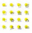 property icons vector image vector image