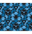 Seamless pattern abstract honeycomb mosaic vector image vector image