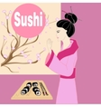 sushi vector image vector image