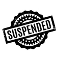 Suspended rubber stamp