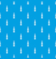 bottle of vodka pattern seamless blue vector image vector image