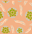 floral pattern vintage decorative elements vector image