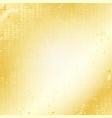 gold grunge speckled background vector image vector image