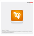male and female symbols gender icon vector image